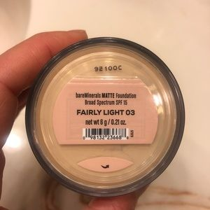 Bare minerals broad spectrum foundation